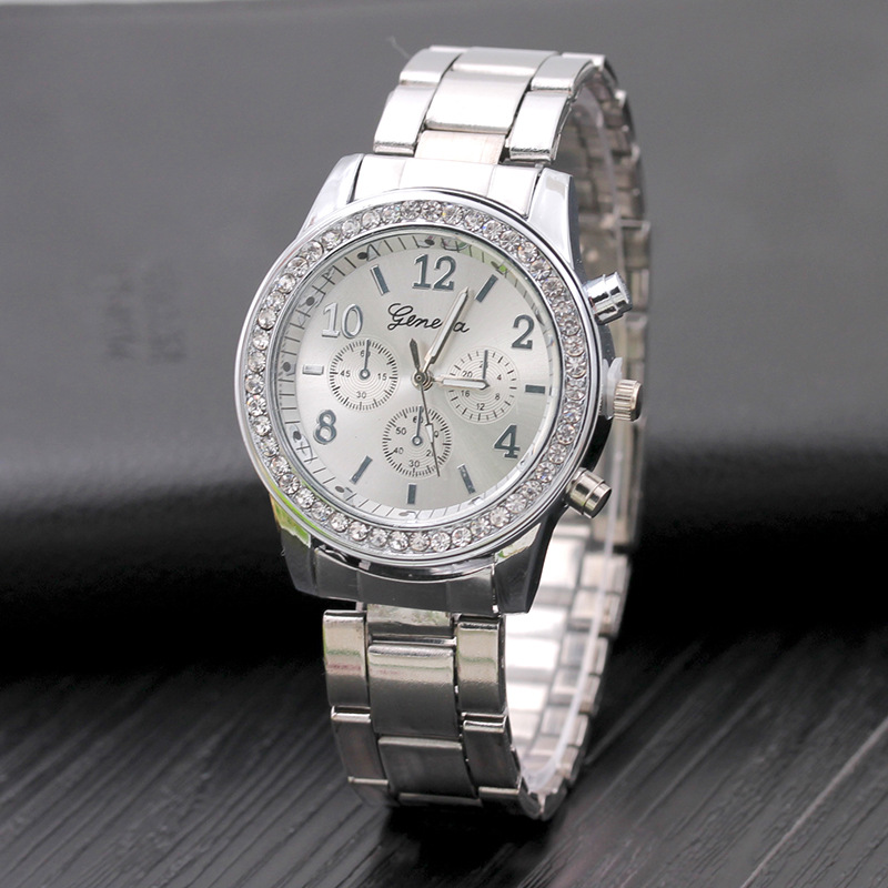 Bracelet Watches Clock JW Women's New-Brand Dress Fashion Crystal Quartz Reloj-Mujer