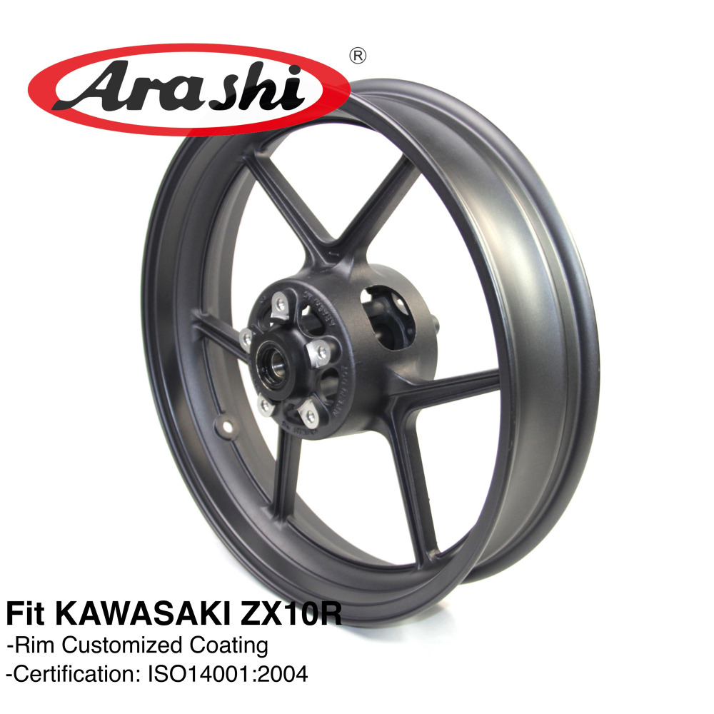 Arashi NINJA ZX10R 2004 2005 Front Wheel Rim For KAWASAKI ZX 10R ZX 10R 1000 2004 2005 Motorcycle Z1000SX Z800 ER6N Z 750