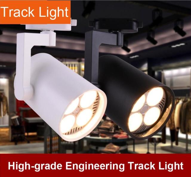 webetop led cob luz de la pista iluminacin interior luces de ferrocarril de zapatos ropa tienda