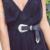 JYSS chegada de Nova Moda PU cintos para as mulheres de cor sólida flor fecho de cinto de Alta qualidade cinto de couro Falso Comprimento 104 cm 60055