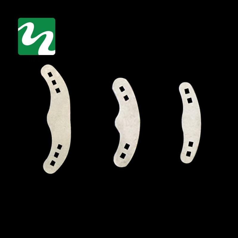 60PCS Dentální matice Pásky Tofflemire Stuck Velké / Střední / Malé 3 velikosti Dentální laboratoř Doprava zdarma