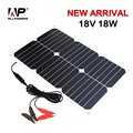 ALLPOWERS Portable Solar Panel 18V 18W Solar Car Battery Maintainer Charger for Automobile Motorcycle Car Boat Tractor.