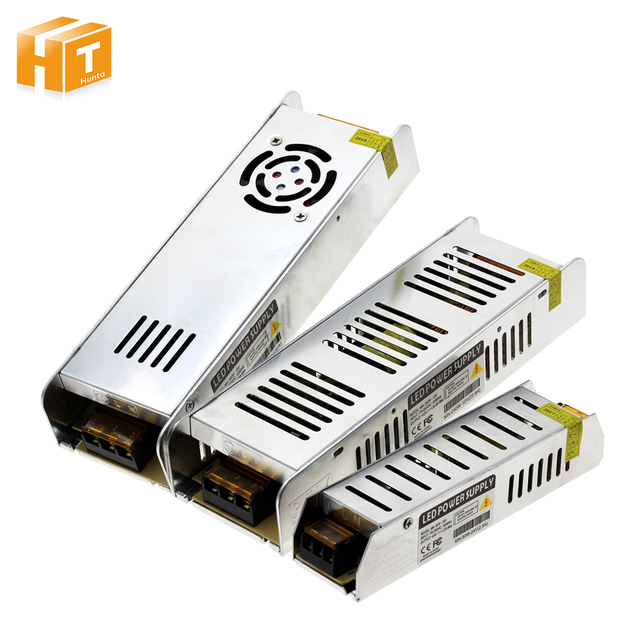 Alimentation de conducteur de LED AC220 à DC12V/DC24V 60 W 120 W 200 W 250 W 360 W adaptateur LED transformateurs d'éclairage
