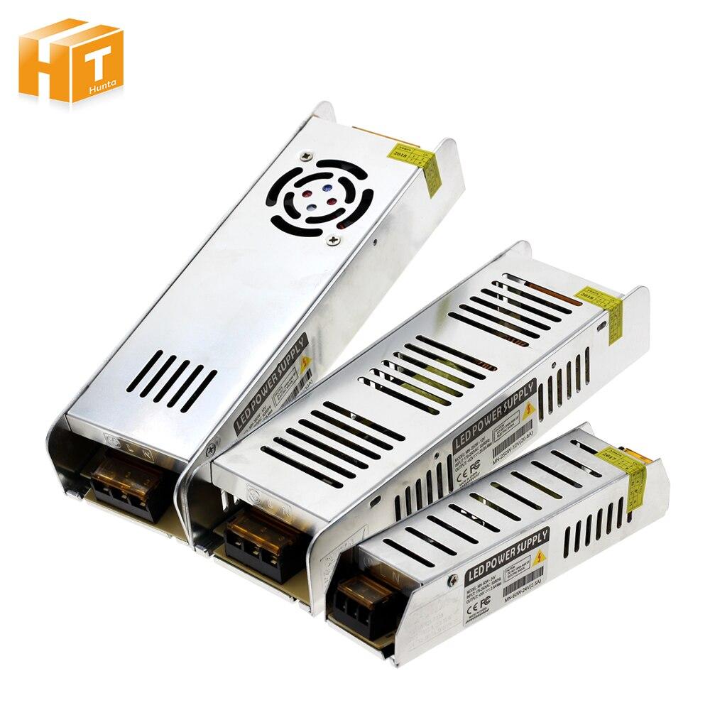 LED di Alimentazione del Driver di Alimentazione AC220 Per DC12V/DC24V 60 w 120 w 200 w 250 w 360 w LED adattatore di Illuminazione Trasformatori