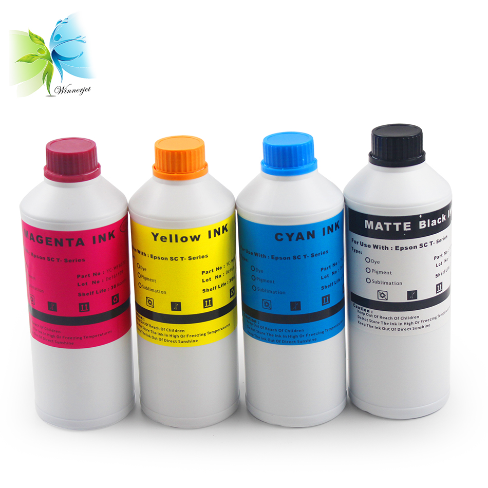 WINNERJET Sublimation Ink for Epson sc t3270 Printer in Ink Refill Kits from Computer Office