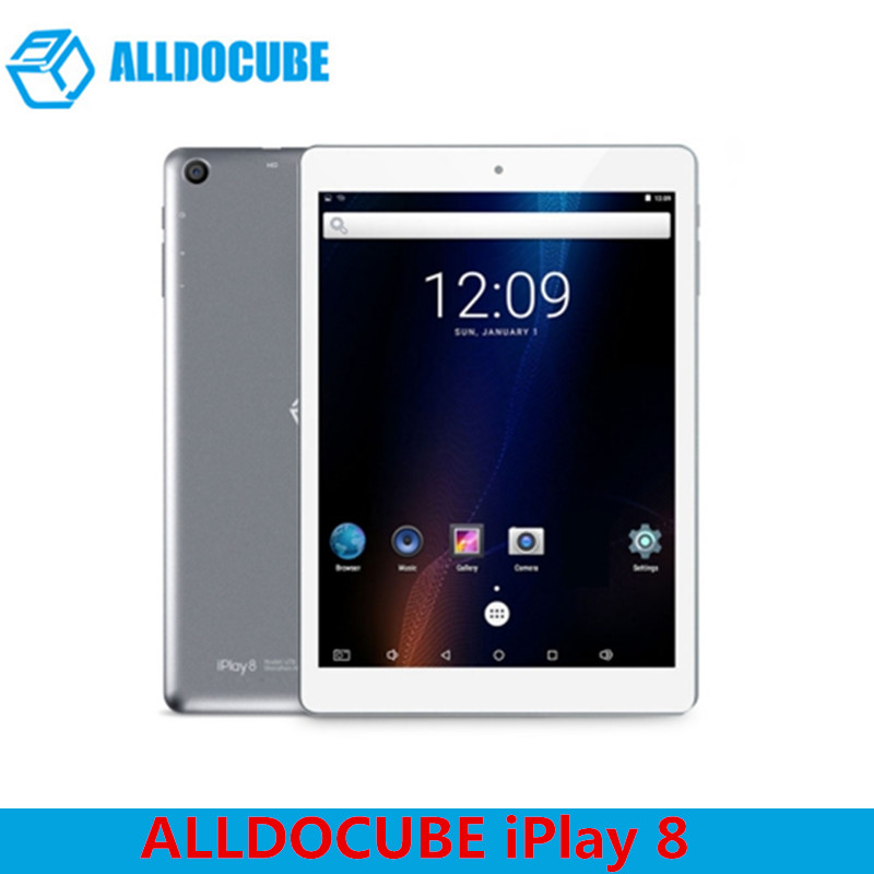 цена на ALLDOCUBE IPlay 8 Tablets Android 6.0 7.85'' MTK8163 Quad Core HDMI GPS 1024 X 768 IPS Dual Wifi 1GB 16GB OTG Tablets PC