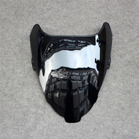 Black ABS Front Glass Deflector Motorcycle Windshield Windscreen For Suzuki RF400RV GK78A 1993-1997 94 95 96 New