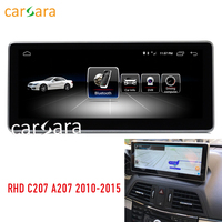 10.25 2G RAM Android screen for RHD E Class coupe C207 A207 W207 2010 2015 E200 250 GPS stereo touch screen multimedia player