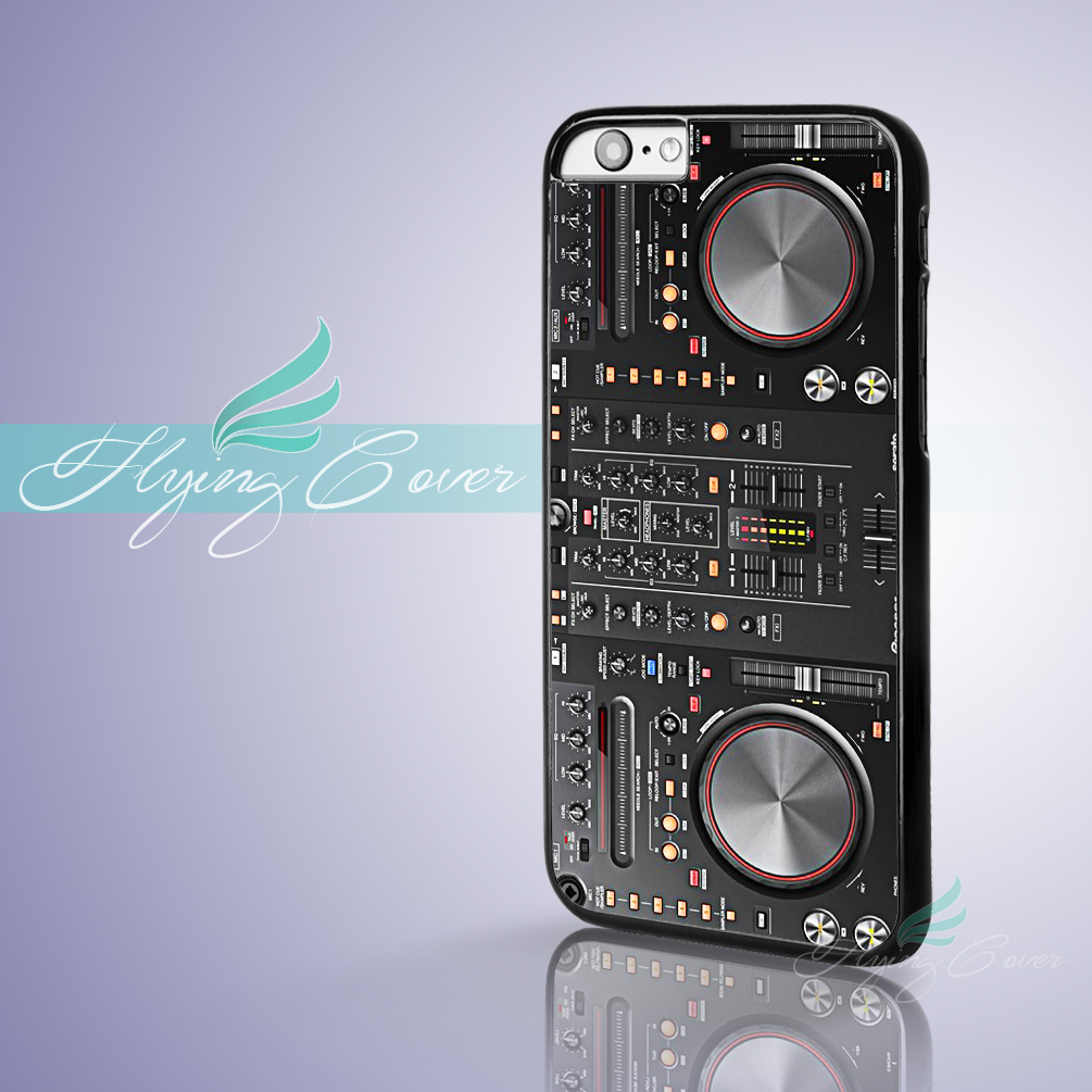 Coque DJ Controller Mixer Fundas Phone Cases for iPhone X 8 8Plus 7 6S 6 7 Plus 5S SE 5C 5 4S 4 Case for iPod Touch 6 5 Cover.