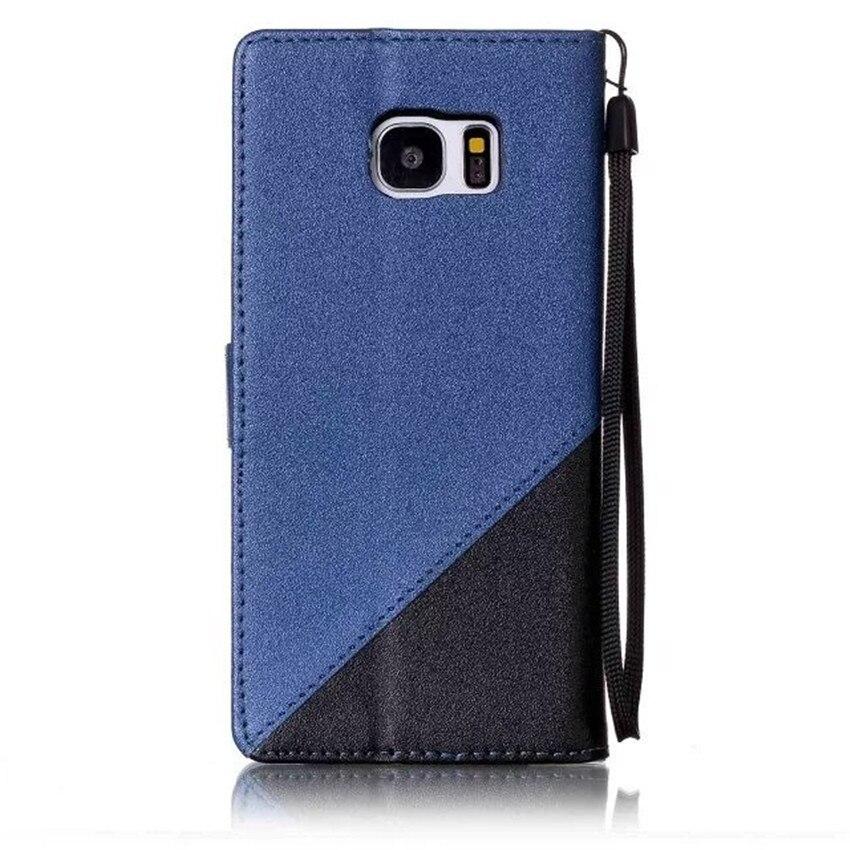 Για Samsung Galaxy S6 S7 Edge Case Mix Color PU Leather Flop - Ανταλλακτικά και αξεσουάρ κινητών τηλεφώνων - Φωτογραφία 2