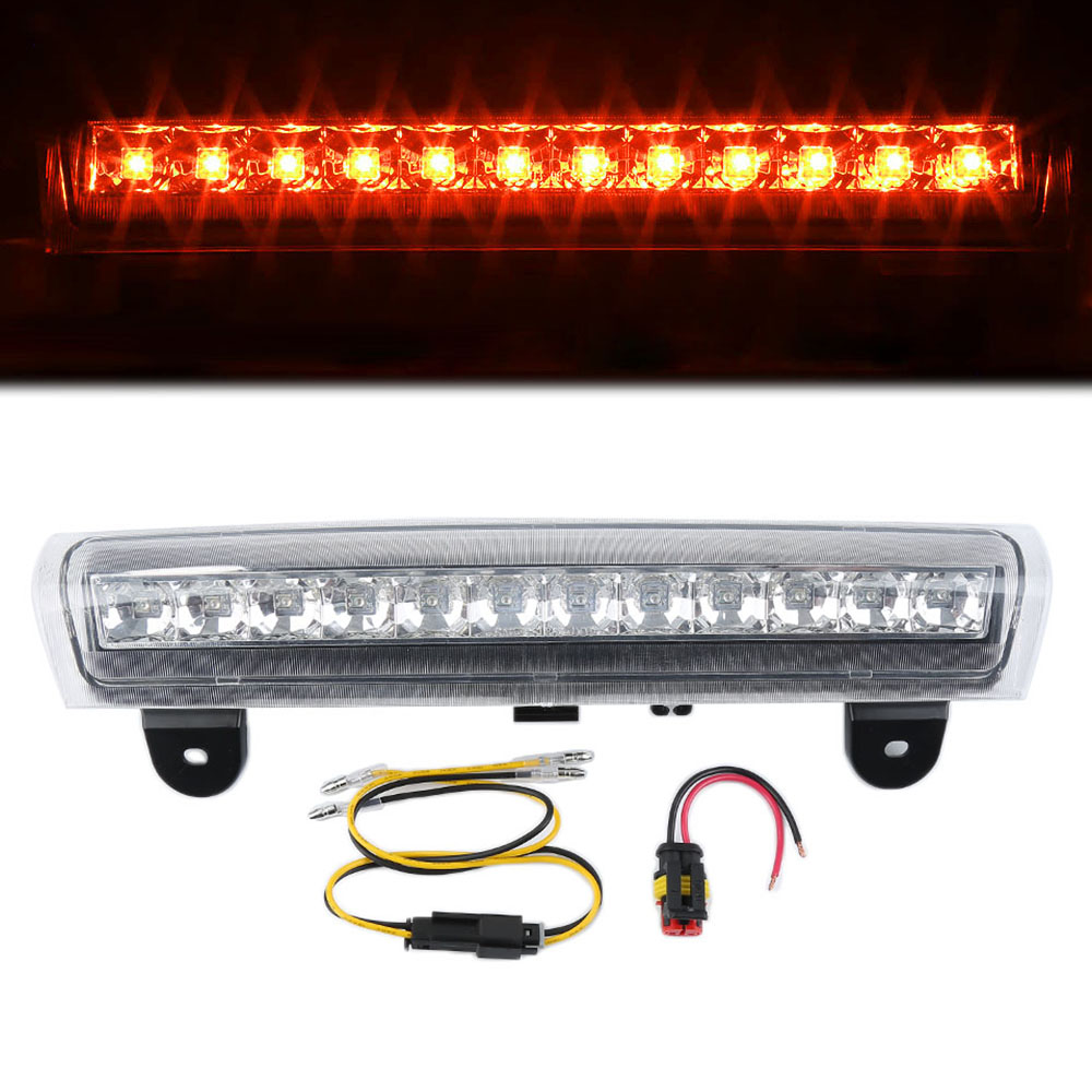 Liplasting additional brake lights rear roof 3 rd third brake led light fit for tahoe
