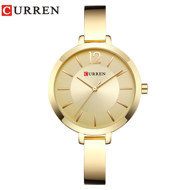 CURREN New 9012 Quartz Women Watches Casual Fashion Ladies Gift Wrist Watch relo