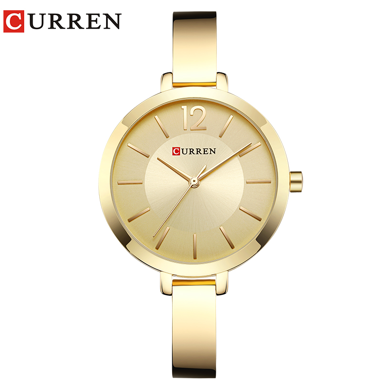 CURREN New 9012 Quartz Women Wa