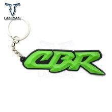 Motorcycle Model universal Keychain Keyring Key Chain Key Ring Holder  soft Rubber  for Honda CBR All