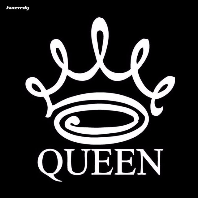 Online shop 3d stickers queen crown funny car stickers 13 515cm car decals car body home wall window stickers car styling aliexpress mobile