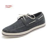 Men-Canvas-Shoes-With-3-Color-Rubber-Bottom-British-Style-Light-Blue-Black-Men-s-Flat