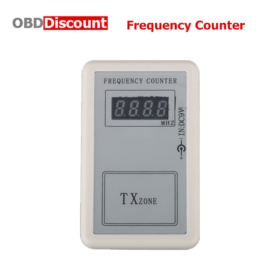 Prix pour Télécommande Transmetteur Mini Numérique Compteur de Fréquence (250 MHZ-450 MHZ)