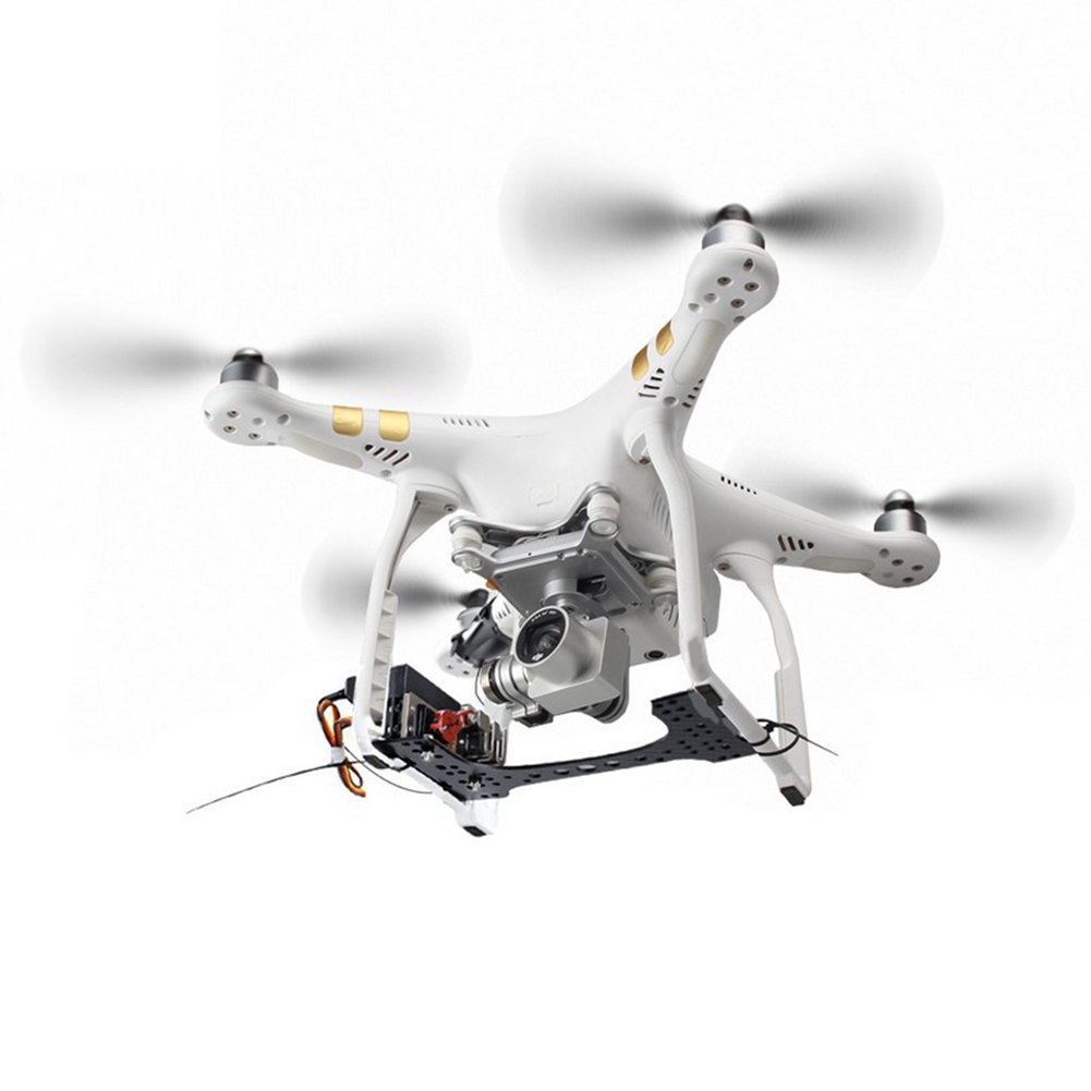 Thrower Air Dropping Professional Release Wedding Fishing Bait Proposal Transport Clip Drone Device Carrying For DJI Phantom(China)
