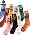 [Cosplacool] new chegou estilo coreano handmade frisado borlas lantejoulas broca mulheres/meninas moda casual meias meias calcetines sox