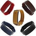 Substituição genuine strap pulseira de pulso de couro para o huawei honor banda relógio a1