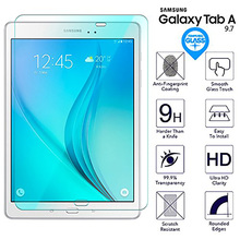 9H HD Tempered Glass For Samsung Galaxy Tab A 9.7 inch SM-T550 SM-T555 SM-T551 P550 P555 Tablet Screen Protector Protective Film detach wireless bluetooth keyboard case cover for samsung galaxy tab a 9 7 sm t550 t550 t555 p550 with screen protector film pen