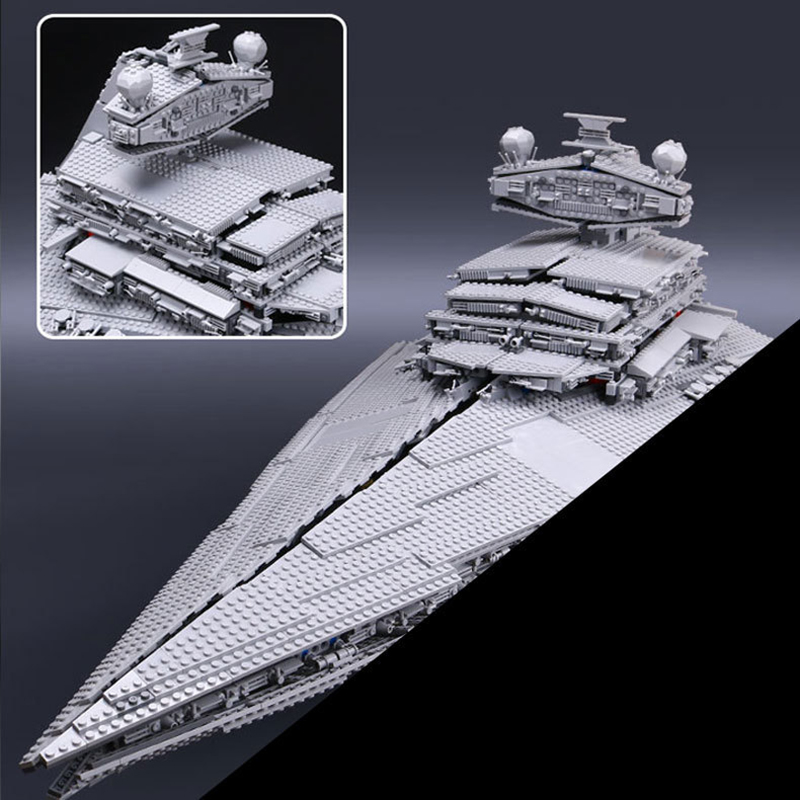 Building Blocks Mattoni Lepine Serie di Stelle Guerra 10030 Super Star Destroyer LegoINGlys Educativo Per Bambini Giocattoli Regalo Lepine 05027