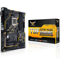 ASUS TUF Z370 PLUS GAMING game board supports i7 8700K