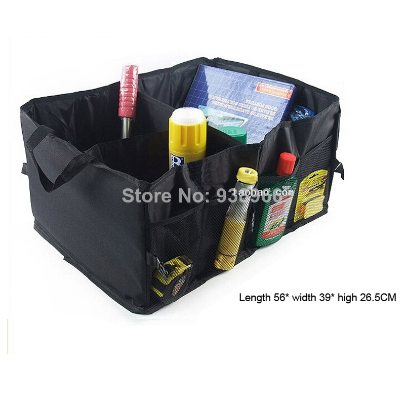 Folding Car storage box trunk bag vehicle Toolbox multi-use Tools organizer the bag in the trunk of cars for car styling car trunk storage bag oxford cloth folding truck storage box car trunk tidy bag organizer storage box with cooler bag
