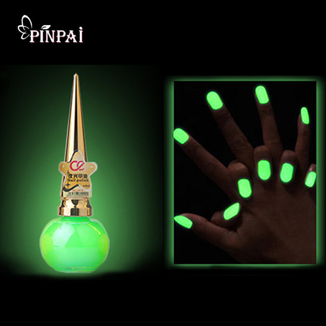 Glow in the Dark Paint Nail Polish for Halloween Nail Art Decoration ...
