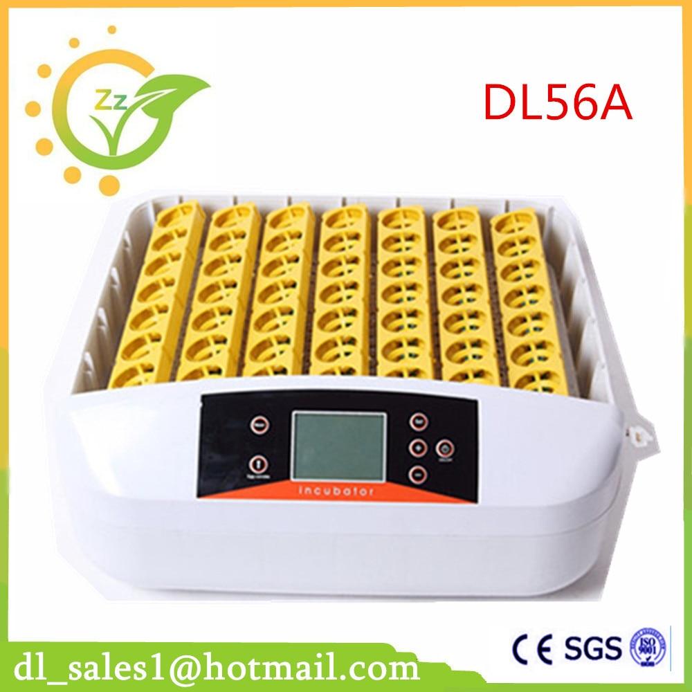 Hot sale model DL56a chicken egg incubation capacity 56 eggs hot sale cayler
