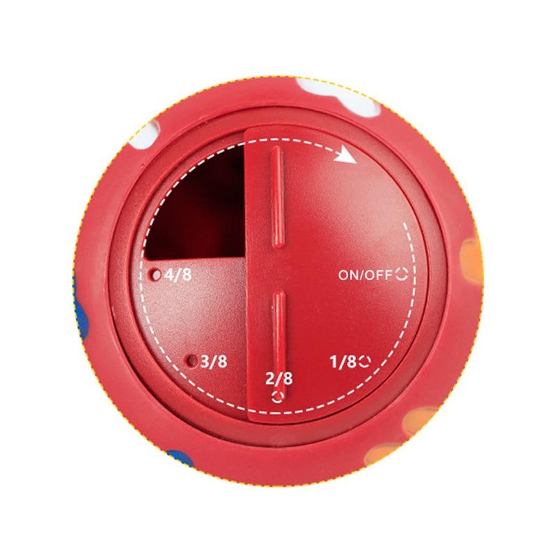 Флуоресцентный дозатор для жевания, игрушечный интерактивный мяч для домашних животных, синий, красный, диаметр 7,5 см-1