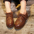 2016 spring child Moccasins baby fashion vintage tassel casual male child leather shoes child single shoes female shoes