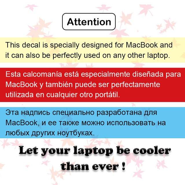 Glowing Naruto Laptop Sticker for Apple MacBook Air 13 Pro Retina Skin