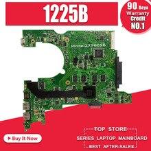 Материнская плата для ноутбука ASUS 1225B с охлаждающим вентилятором, материнская плата 1225B