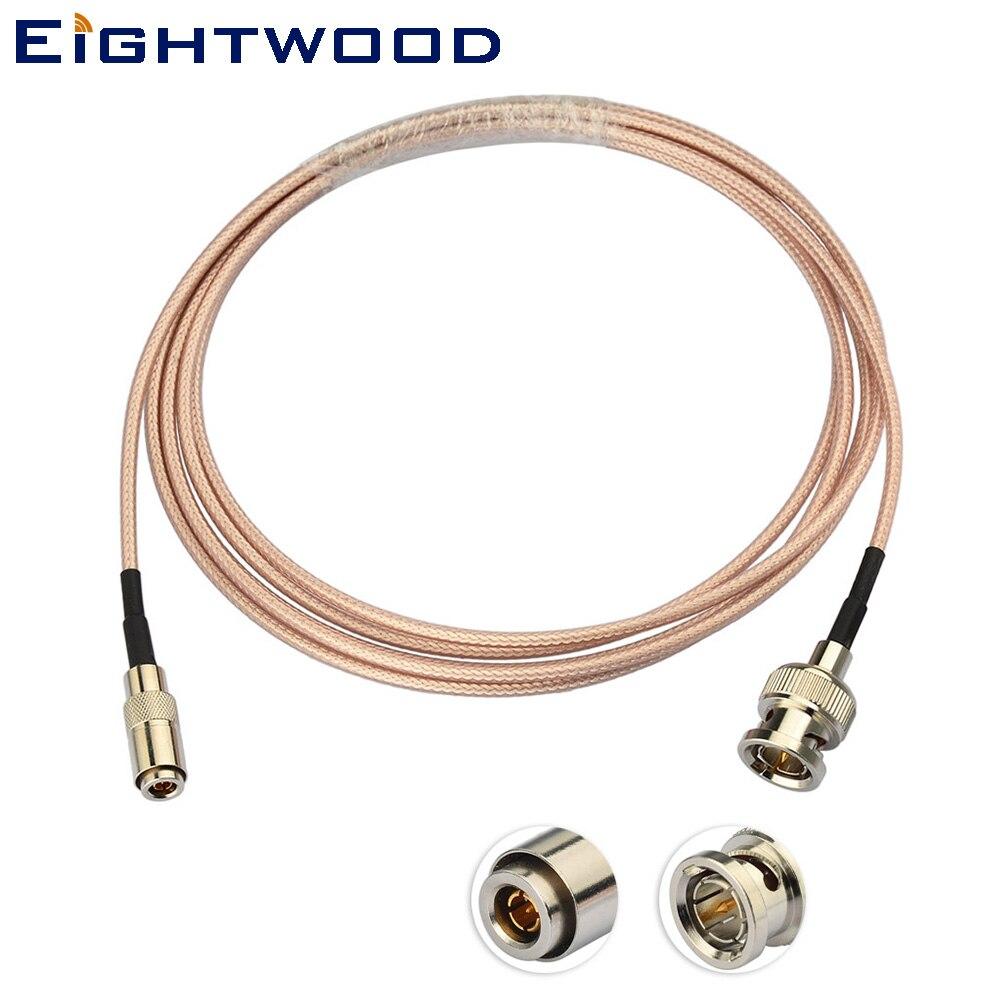 Eightwood 3G/HD SDI Câble pour Vidéo Aider Blackmagic Caméra 4 k avec BNC Mâle DIN Mâle 1.0 /2.3 Connecteur Adaptateur RG179 Câble