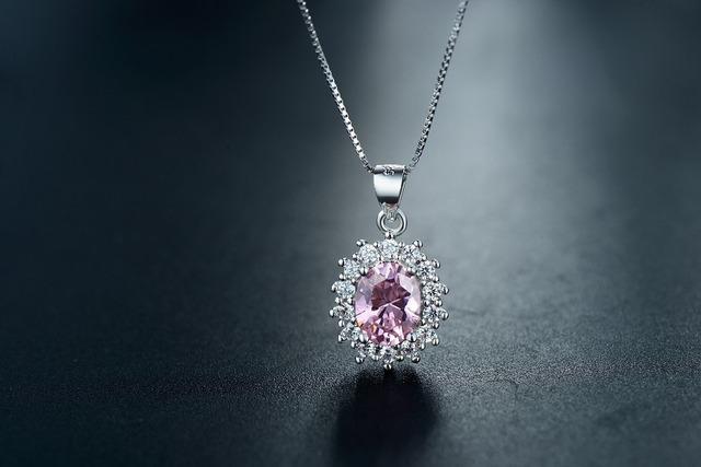 Pink Color Zirconia Crystal Earrings