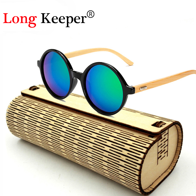 dd3b0b555502a Long Keeper New Fashion 100% Handmade Bamboo Wooden Sun Glasses UV400  Sunglasses Brand Wooden Sun Glasses With Wood Case