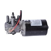 TS 30GZ6287R High Torque 6N.m DC Worm Gear Motor 12V 50rpm Garage Door Replacement Right Angle Reversible Metal Copper Gearmotor