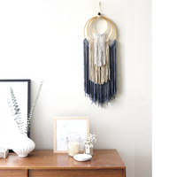Mexican Home Decoration Hand woven Macrame Dyed Tapestry Wall Hanging Living Room Bedroom Study Boho Decor Wall Tapestry