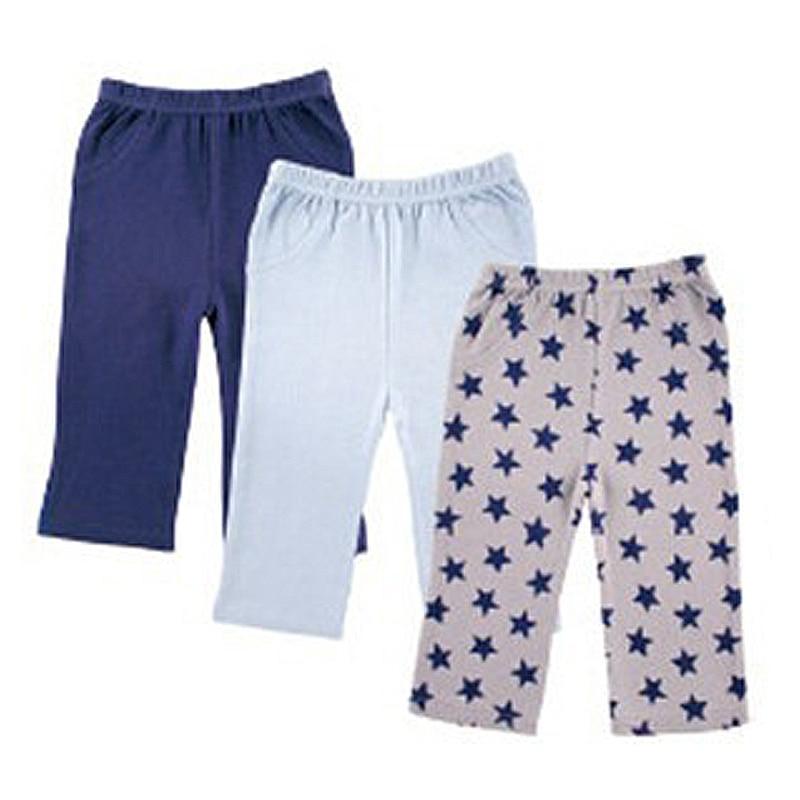 Luvable Freunde Jungen Hosen 3 teile/los Mädchen Sterne Druck PP Hosen Elastische Taille Kleinkind Baby Leggings Kinder Kleidung Hosen