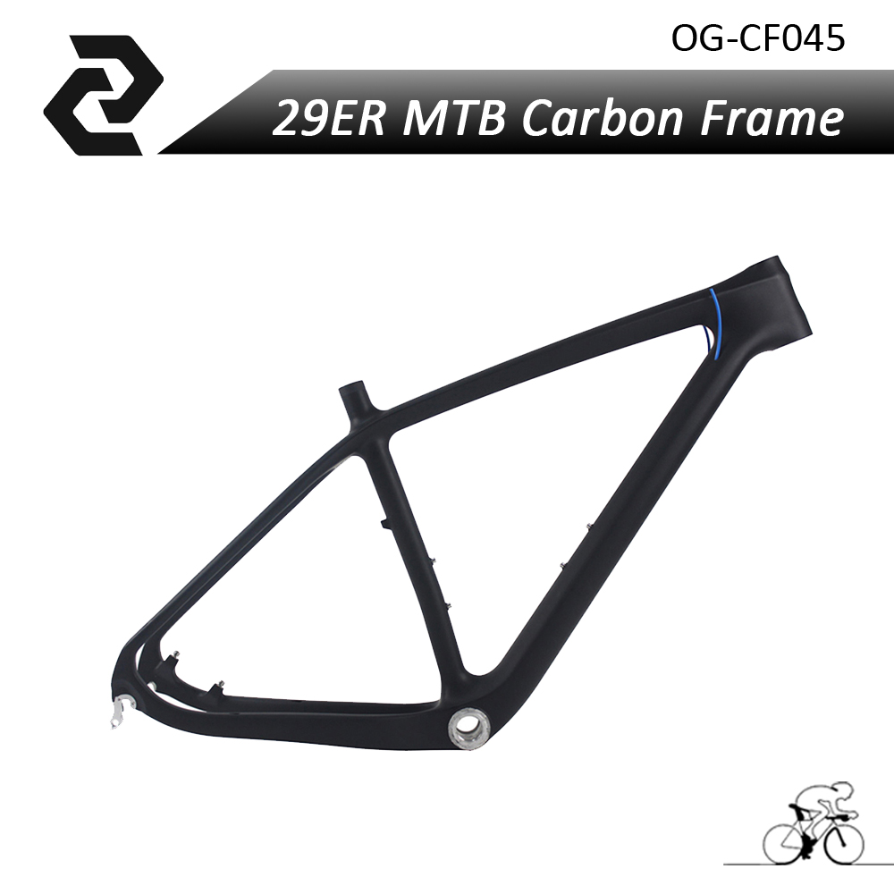 ORGE Full Carbon FiberT700 Mountain Bike Frame 29er mtb Carbon Bicycle Bicicleta Frameseat quick release Ud Matt 15.5/17.5/19 giant 26 mountain bike mtb frame atx pro