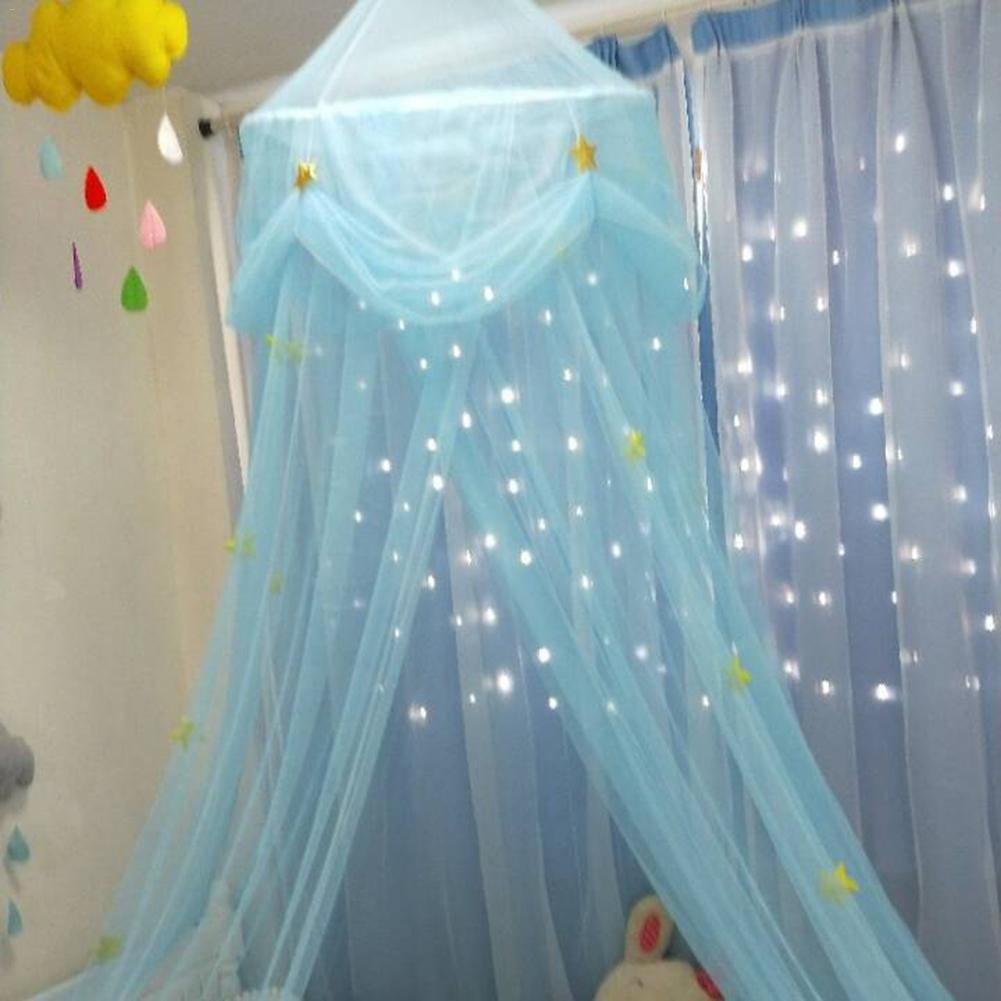 Star Dreamy Children Hanging Lace Mosquito Net Canopy Curtain Erfly Princess Wind Dome Top Tent Screen In Crib Netting From Mother