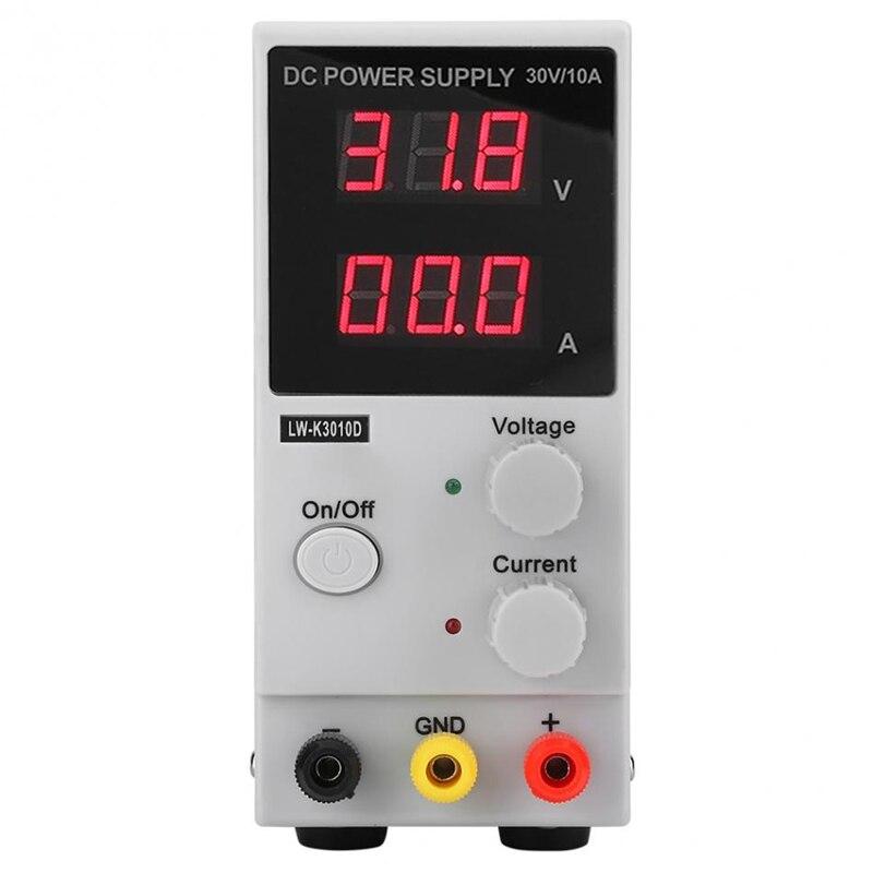 Mini LW-K3010D 110 V/220 V 30 V 10A réglable 4 affichage numérique DC alimentation régulateurs de tension alimentation à découpage