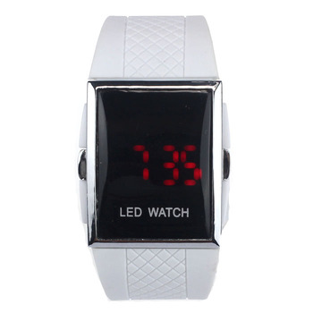 Paradise 2017 New Classic LED Alarm Date Digital Men Women Sports Gel Watch Wrist Bracelet wholesale  June16 дамски часовници розово злато