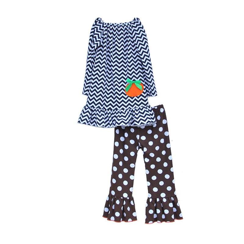 웃 유2016 de alta calidad niño niña ropa set striped pullover con ...