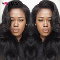 Brazilian Body Wave Full Lace Human Hair Wigs For Black Women 7A Mink Glueless Lace Front Human Hair Wig With Baby Hair 130% Wig