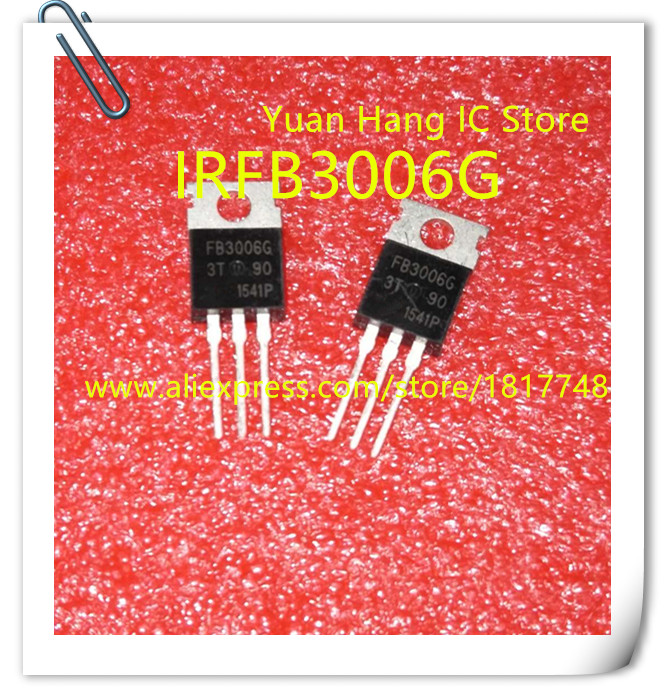 Free Shipping 10PCS/LOT IRFB3006G FB3006 265A 70V  High Current High Power FET