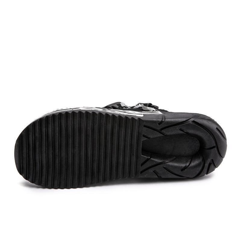 Casuais Estudante Sapatos Nova De Tendência Chinelos Personalidade Macio Praia Escuro Preto branco Fundo cinza Verão A5n5Wqc8