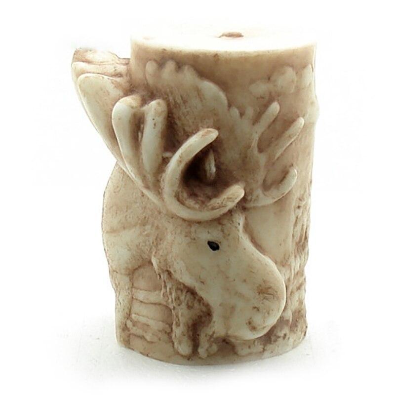 3D cerf soulagement bougie Silicone moule bricolage fait à la main savon faisant outil artisanat résine moule d'argile