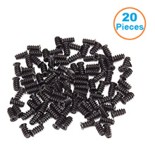 20pcs/lot Black Computer PC Case Cooling Fan Mount Screws For 70 80 90 120 140  Fans ,Pack Of 20pcs